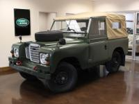 You are viewing a 1974 Land Rover Series 3 with