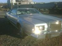 Original 1974 Lincoln Continental Mark IV, (USA-Ford),