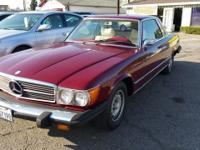 Price $12,999.00 Year 1974 Make Mercedes Benz 450 SLC