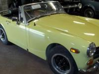 Good 1974 MG Convertible that requires a little love to