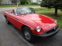 Local Owner, Nice MG, Nice Top, Runs & Drives Great! We