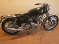 Have a running 1974 Norton 850 Commando with matching