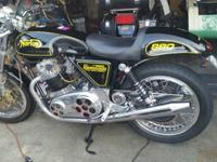 Kenny Dreer built 50 amazing bikes out of 1974 Norton