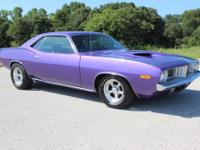 1974 Plymouth Barracuda  This car comes with a strong