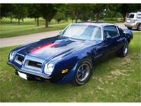 1974 Pontiac Trans AM 455 Automatic Custom Paint This