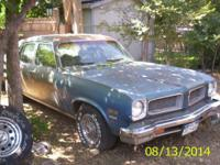 I HAVE A 1974 PONTIAC VENTURA 4 DOOR ALL ORIGINAL ,