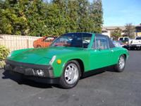 Heres a cool 914 that has the desirable 2.0L motor. By
