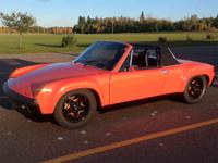 Year : 1974 Make : Porsche Model : 914 Exterior Color :