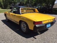 BEAUTIFUL FLORIDA DRIVEN PORSCHE 914 IN BRIGHT YELLOW