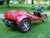 1975 vw trike titled as a 1981 spec con due to up grade