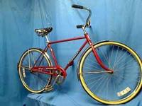 "1974 SCHWINN SPEEDSTER SINGLE-SPD 20"" CRUISER BICYCLE"