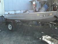 for sale 1974 sears 12 foot v bottom boat with trailer