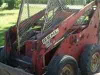 1974 skid steer its a Gehl 2500 operates well. Needs a