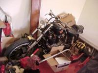 1974 Sportster Engine with title. Custom frame? Custom