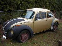 I am selling a 1974 super beetle with clear title , the