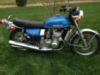 1974 Suzuki GT750 Water Buffalo aka Kettle, only made