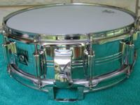 Truly good very early Tama snare drum. 5x14. It's the