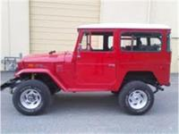 1974 Toyota Land Cruiser FJ40 for sale. 4WD with