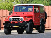 1974 Toyota Land Cruiser Base. One-of-a-Kind Resto-Mod
