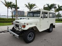 1974 Toyota Land Cruiser FJ43 Manual. This is a very