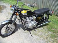 1974 Triumph Trident T-150v that has had a 3 year