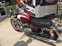 Everything was working in 2009. 1974 Triumph 750