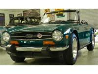 Now available in our Pleasanton Showroom a 1974 Triumph