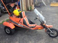 In very good condition, this turn-key 41 year old trike