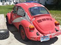 1974 Classic Volkswagen Super Beetle, New floor pans,