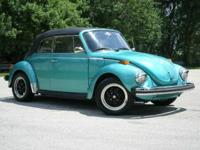Rare 1974 Volkswagen Super Beetle 4 speed Manual Soft