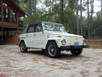 "Selling my 1974 VW ""Thing"". It has 68,200 original"