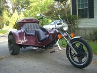 1974 Volkswagon trike Custom Trike with a 1600CC Engine