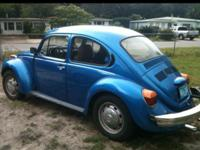 1974 VW Super Beetle, all new interior, suspension