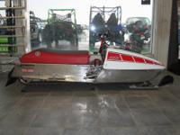 1974 Yamaha GPX 433 drag sled is all set-up over
