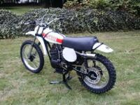 RESTORED TO RACE 1974 YAMAHA YZ250A NUMBERS MATCH