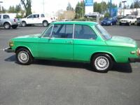 Selling my 1974 BMW 2002 (automatic). She was mostly