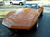 1974 Corvette Convertible, with L48 (350) automatic