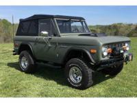Year : 1974 Make : Ford Model : Bronco Exterior Color :