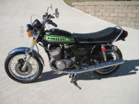 Kawasaki motorcycles: a survivor original condition