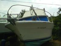 Description Classic Sport Fisher 1974 Silverton 28'