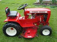 I have a 1974 WheelHorse C-160 Automatic lawn tractor.