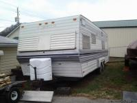 Very clean and well cared for this 24 ft camper is all
