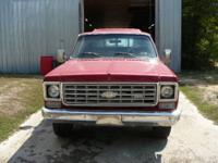 up for sale is a 1975 4dr chevy silverado. this truck
