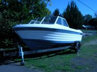 17ft fiberglass boat. American Marine. NO ENGINE. All