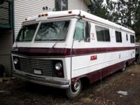 1975 Apollo Motorhome. Needs some work but clean. Dodge
