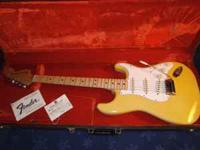1975 Blonde Fender Stratocaster This is a beauty! Great