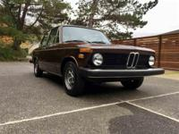 Year : 1975 Make : BMW Model : 2002 Exterior Color :