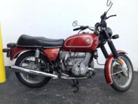 Hi this is my 1975 R90/6. I am the 2nd owner with title