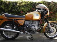 1975 BMW R90S in excellent condition for sale by owner.