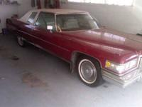 1975 Cadillac Coupe deVille American Classic This